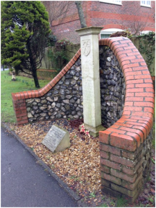 The King's Stone on Manor Lodge Road